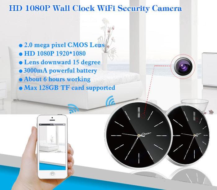 SPY059 - Omega wifi IP live stream Hidden Camera - 1