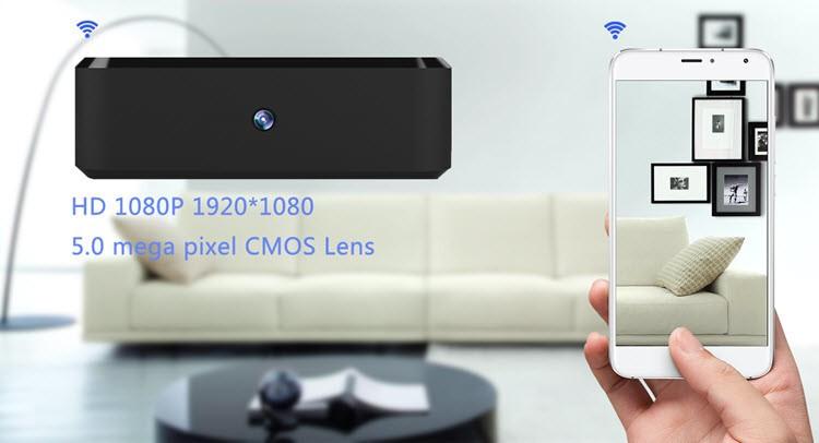 SPY060 - WIFI HD 1080P Pro Black Box Security Camera - 1
