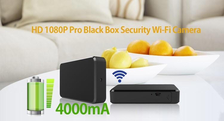 SPY060 - WIFI HD 1080P Pro Black Box Security Camera - 2
