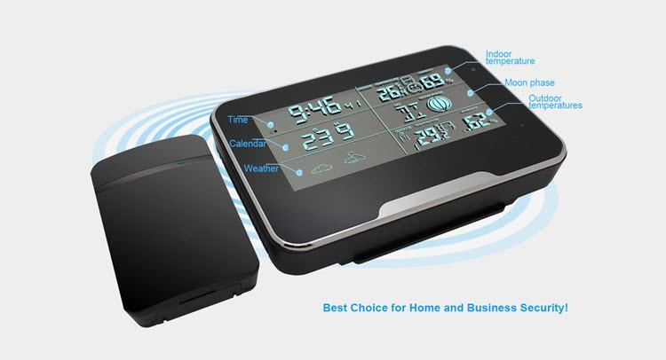 SPY062 - WIFI HD 1080P varnostna kamera vremenske postaje, podpora SD kartica 64GB - 5