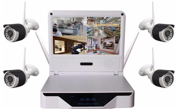 Smart Home security alarm kits wireless ip camera HD 1.3 mega pixel wifi network - 1