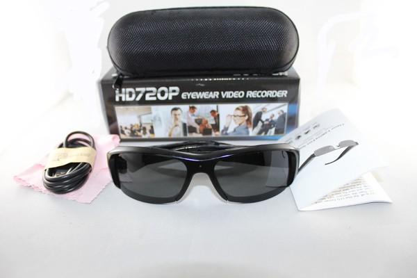 Spy Sunglasses Video Camera - 5MP, 1080P HD - 5