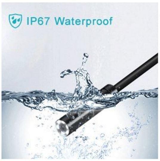 USB Borescope, Endoscope Inspection, HD Waterproof Snake Camera - 10