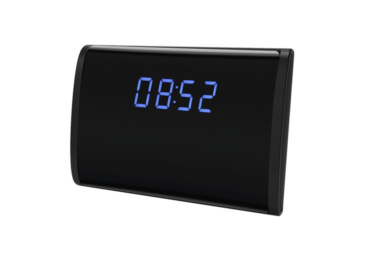 WIFI HD 1080P Table Clock Security Camera, Support SD Card 128GB - 7