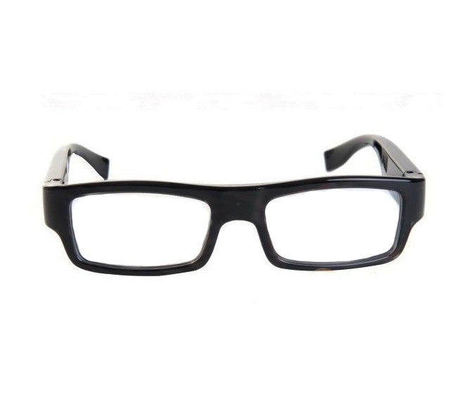 Wearable No Camera Hole Spy Video Eye Glasses - 12MP, 1080P HD - 1
