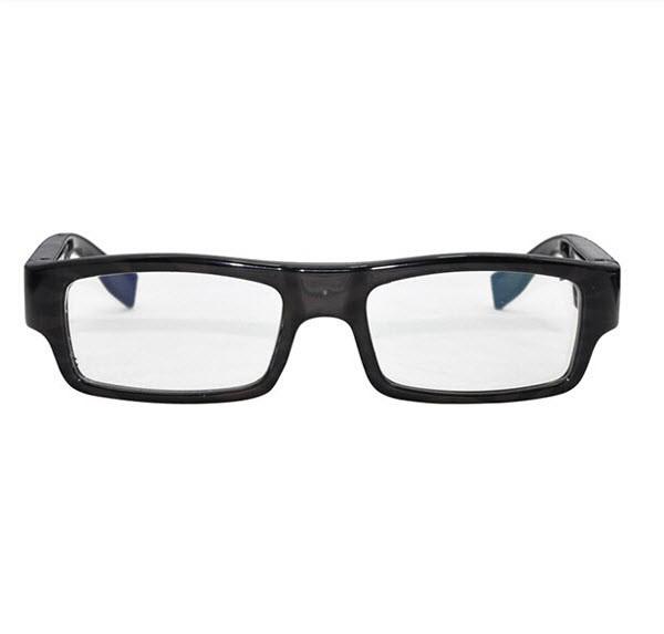 Wearable No Camera Hole Spy Video Eye Glasses - 12MP, 1080P HD - 3