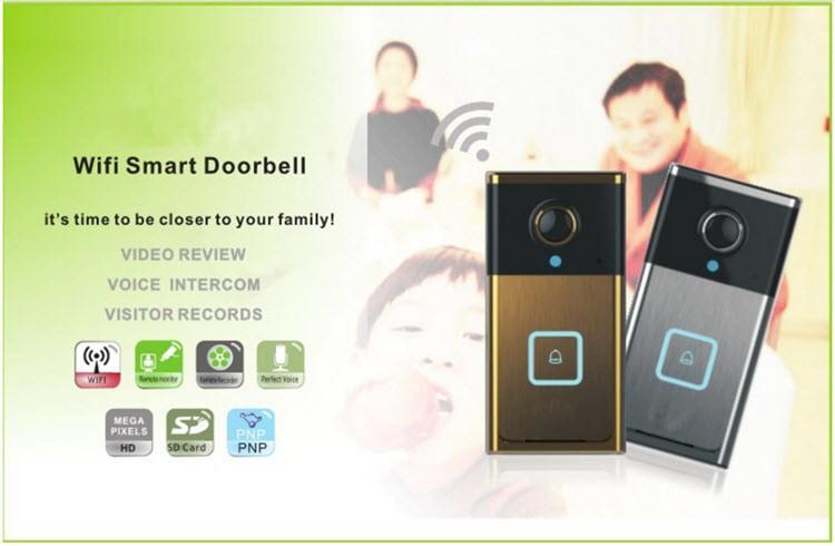 Wifi smart doorbell - 3