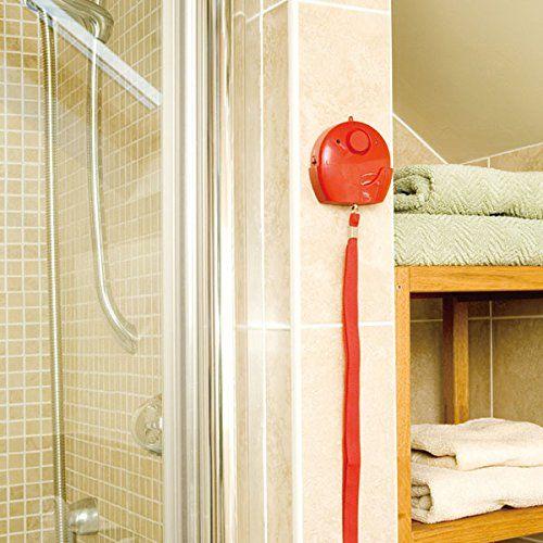 Wireless Elderly Panic Alarm with LOUD 120 dB Siren and LED Light DIY EASY Install - 3