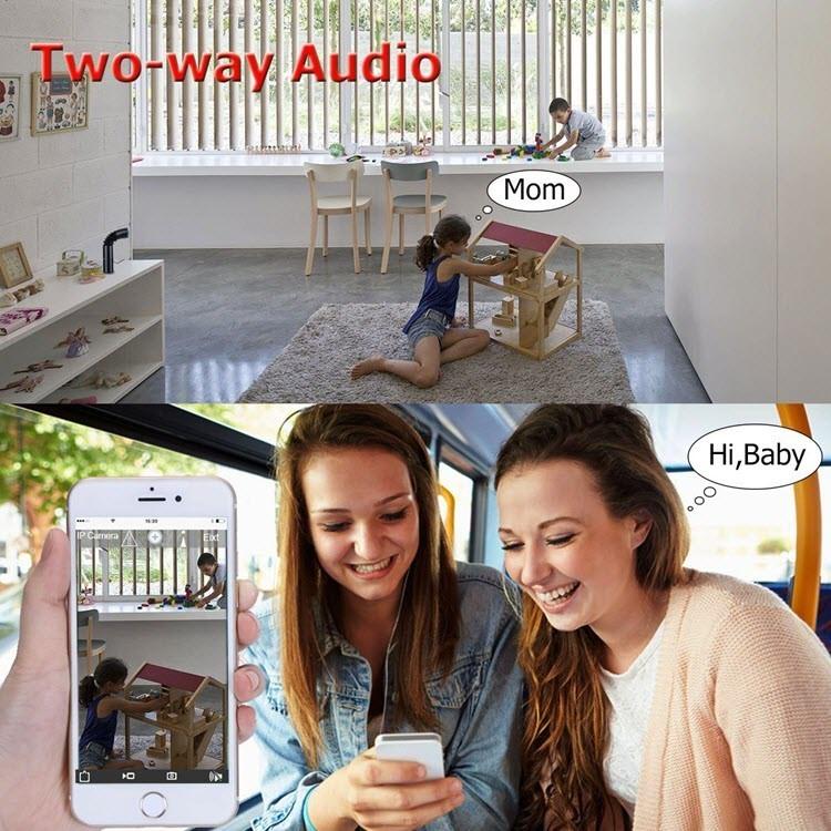 Wireless IP Camera, WiFi Security Webcam for Baby,Elder,Pet,Nanny - 4