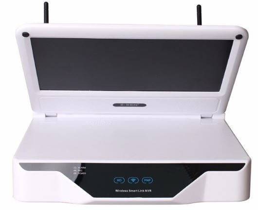 Wireless LCD 10.1 inch LCD screen NVR HD resolution - 3