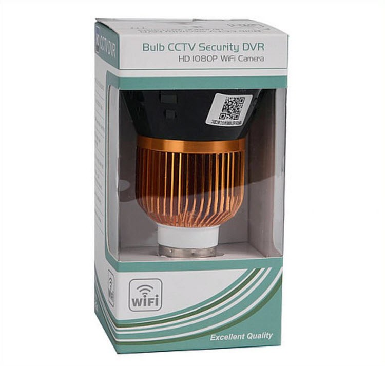 1080P WIFI IP Bulb Igwefoto DVR, 940nm - 7