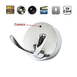 Clothes Sliver Hook Design Hanger Hidden Camera - 1 250px