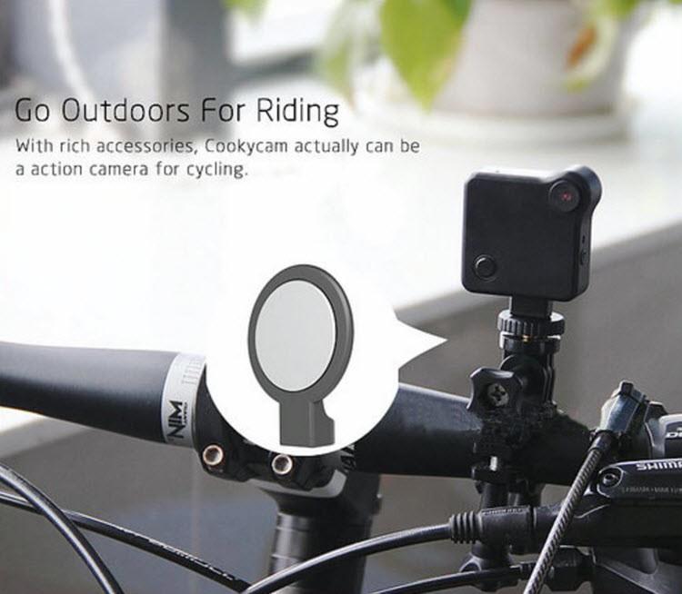WIFI Mini Wearable Camera, HD 1280x720P, H.264, Motion Detection - 10