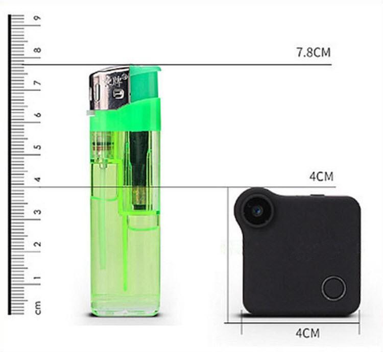 WIFI Mini Wearable Camera, HD 1280x720P, H.264, Motion Detection - 4