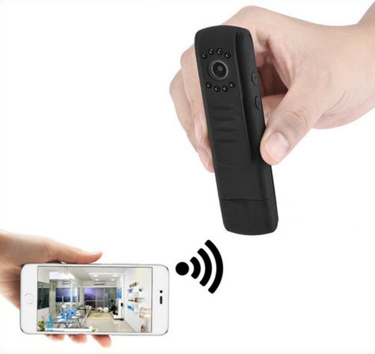 WIFI Portable Wearable Security 12MP Camera, 1296P, H.264, App control - 5