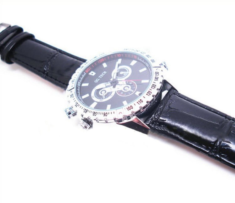 Watch Camera, 1280 x 720P, H.264 Video Format, Motion Detection, 8GB - 3