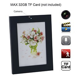 Photo Frame Camera, Motion Detection - 1 250px