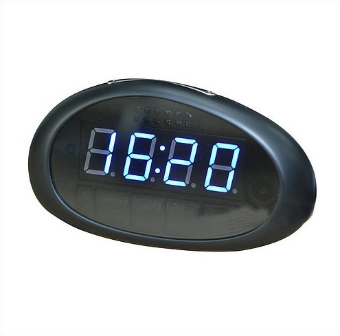 1080P WIFI Clock Camera, FHD 1080P, 158 degree wide-angle lens, H.264, Support 64G - 2