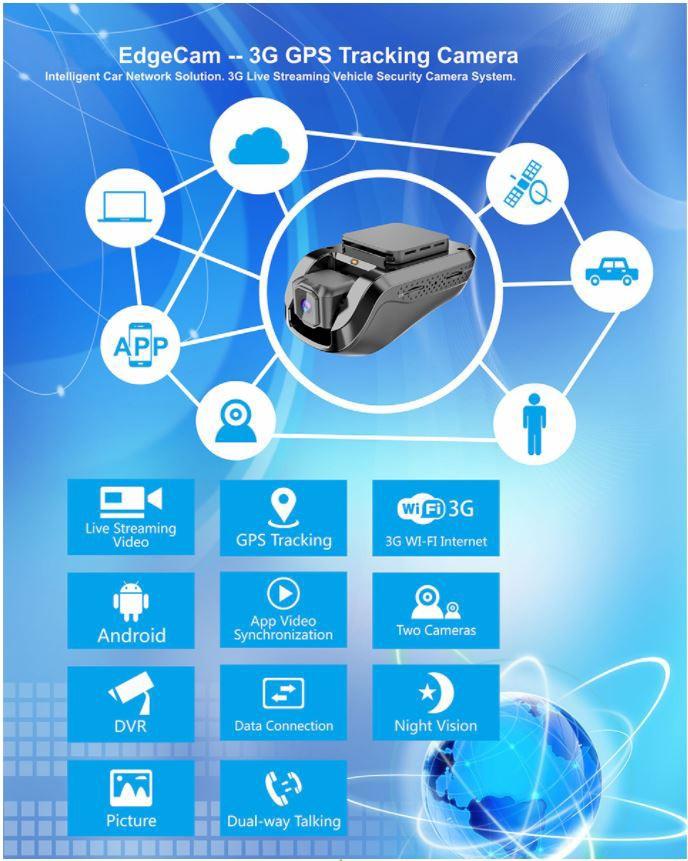 Mini Car DVR Car Black Box Full HD 1080p Night Vision Camera - 1