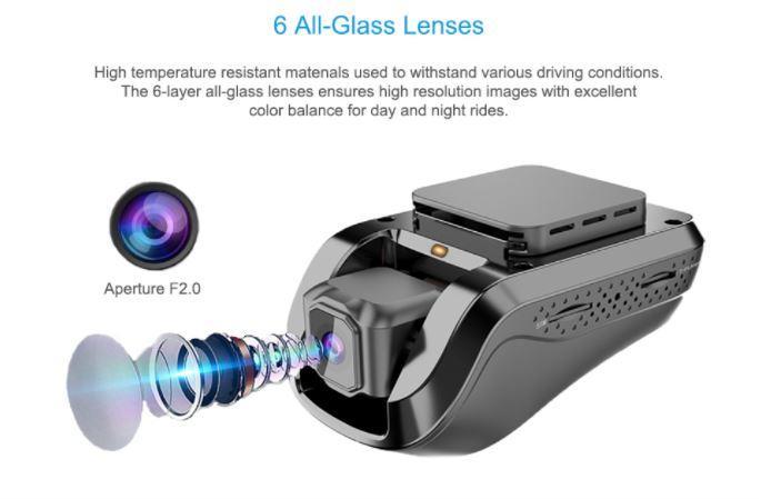 Mini Car DVR Car Black Box Full HD 1080p Night Vision Camera - 7