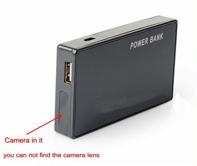 WIFI 1080p Power Bank Hidden Camera DVR - 2