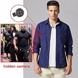 1920x1080P HD Wearable Button Camera, Motion Activated Video Recorder - 1 250px