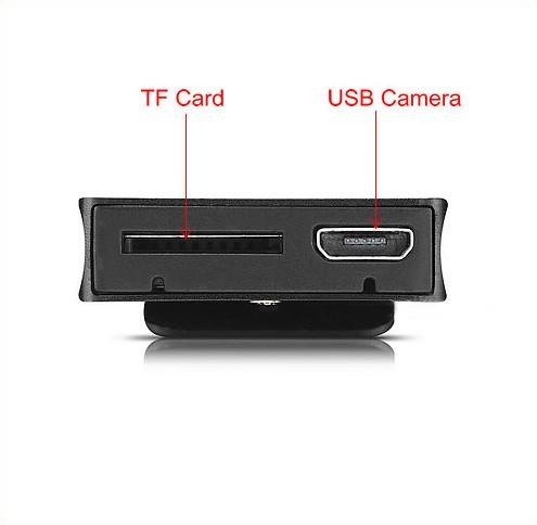 Digital Voice&Video Recorder, Video 1080p, Voice 512kbps,180 Deg Rotation - 6