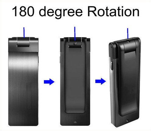Digital Voice&Video Recorder, Video 1080p, Voice 512kbps,180 Deg Rotation - 9