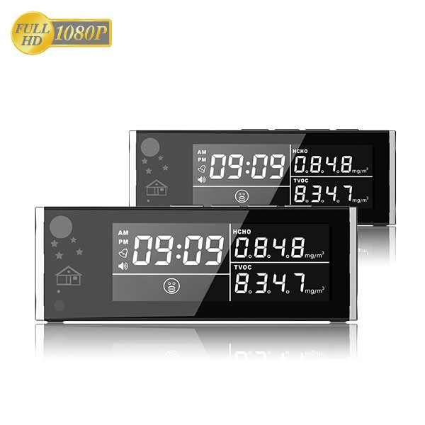HD 1080P Air Quality Monitor Security Wi-Fi Camera - 7