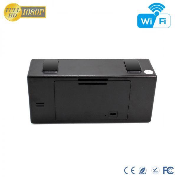 HD 1080P IR Desk Clock Wifi Camera - 7