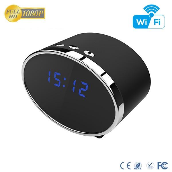 HD 1080P IR Table Clock Wi-Fi Camera - 10