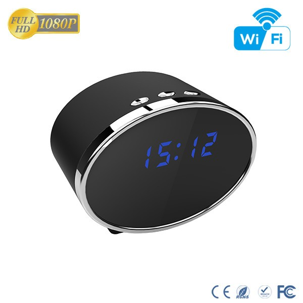 HD 1080P IR Table Clock Wi-Fi Camera - 11