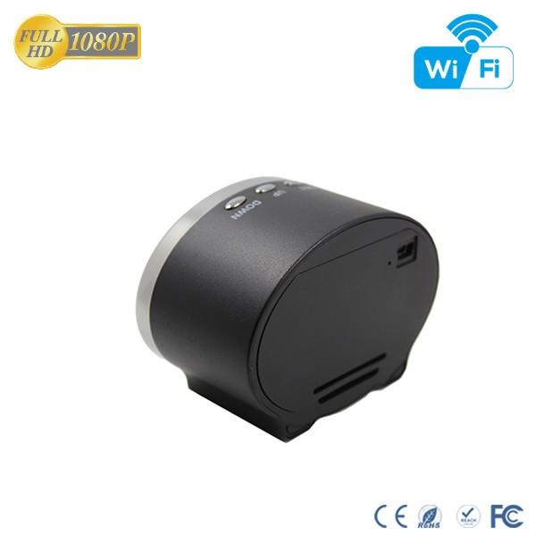 HD 1080P IR Table Clock Wi-Fi Camera - 12