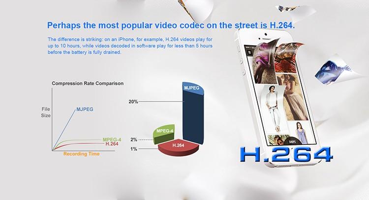HD 1080P IR Table Clock Wi-Fi Camera - 5