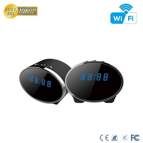 HD 1080P IR Table Clock Wi-Fi Camera - 9