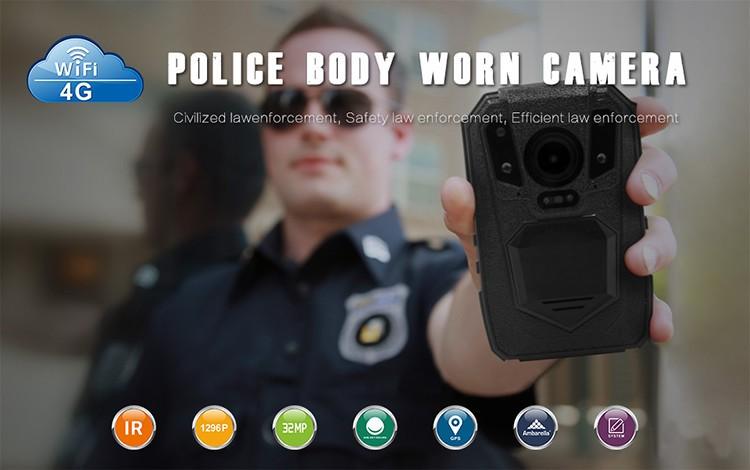 3G,4G Wireless Body Camera - 1