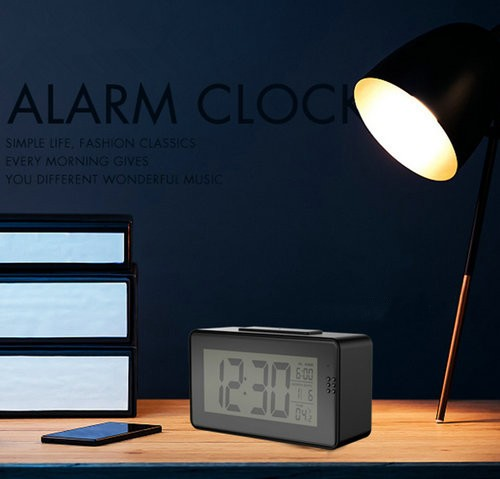 Alarm Clock Camera (Wifi) , Night vision, Motion Detection - 10