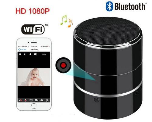Bluetooth Music Player WIFI Camera - 1