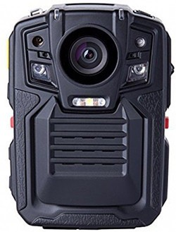 Removable Battery GPS Body Worn Police Camera (170deg) - 1 250px