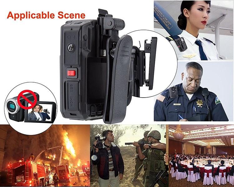 Removable Battery GPS Body Worn Police Camera (170deg) - 4