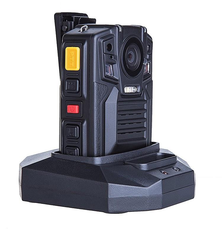 Removable Battery GPS Body Worn Police Camera (170deg) - 5