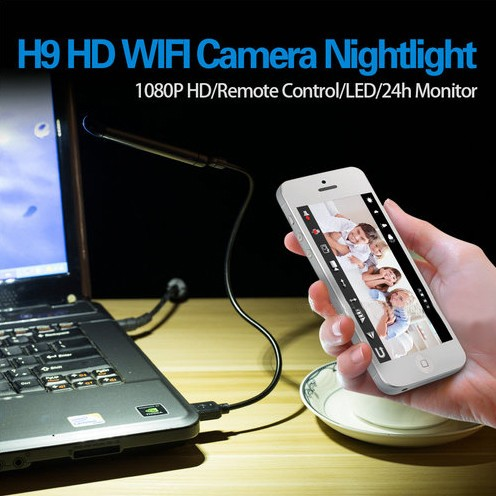 WIFI USB Lampa Ceamara DVR, 5.0M Camera1080p - 6