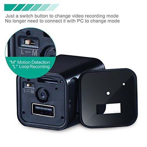 1080P HD USB Wall AC Plug Charger - 3