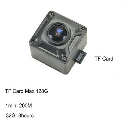 180 Degree Mini Camera, HD1080P, 30fps, SD Max 128g, Battery 60min - 6
