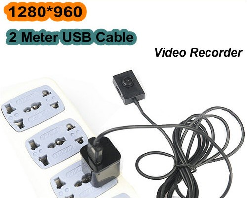 2 meter USB Cable Button camera, 1280x960 - 2