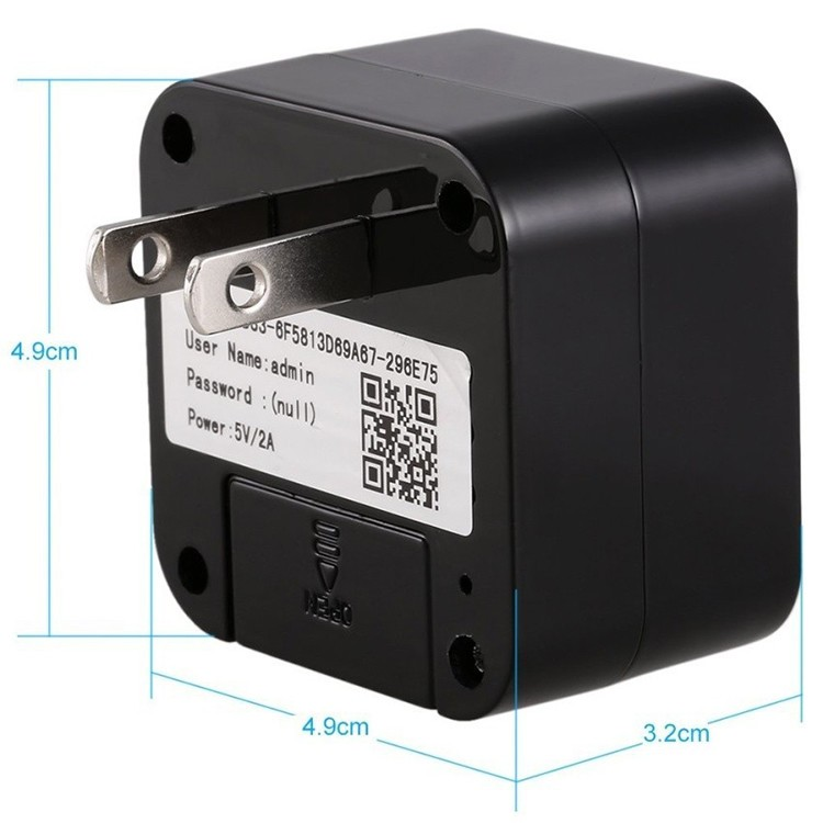 HD WIFI Charger Camera, 5.0M Camera 1080p, WIFI, P2PIP - 4