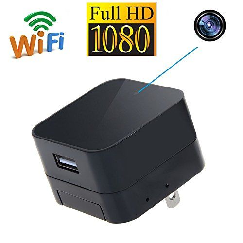 HD WIFI Charger Camera, 5.0M Camera 1080p, WIFI, P2PIP - 7