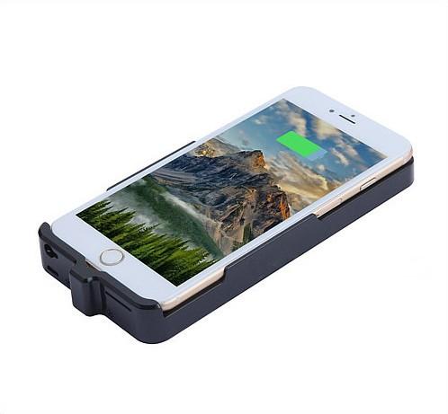 Iphone Power Case Camera, H.264 1080P, 5000mAh battery, TF 128G - 2