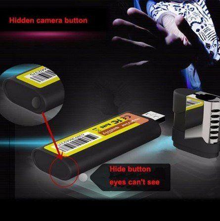 Lighter camera hidden hd spy camera 1080P True lighter camera - 7