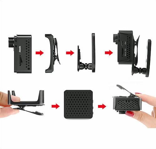 Mini WIFI Camera DVR, 5.0Mega 160degree Camera, Nightvision, SD Max128G - 10